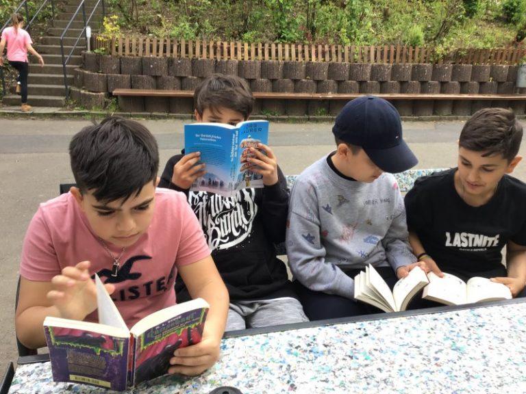 Lesen macht auch Spaß...