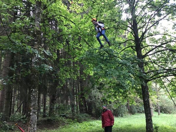 Das fliegende Eichhörnchen