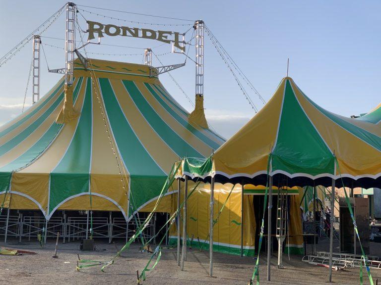 Der Zirkus schlägt seine Zelte in Widdersdorf auf