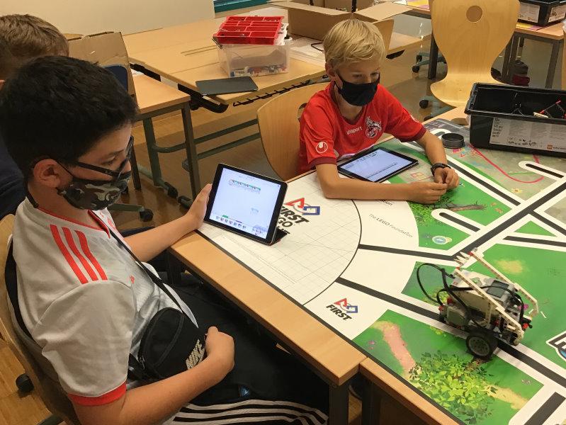 Robotik-AG dank Förderverein gestärkt